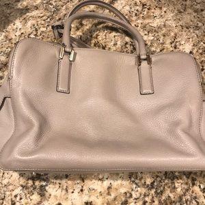 Tory Burch Bags - Grey and gold Tory Burch handbag